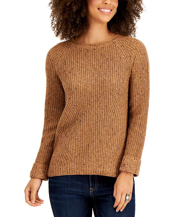 Style & Co - Plus Size Pointelle Sweater