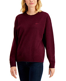 Lacoste Wool Crewneck Sweater