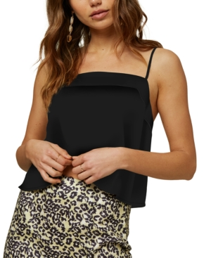 O'neill Juniors' Daines Woven Tank Top In Black