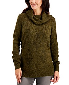 Cowlneck Tunic Sweater, Created for Macy's