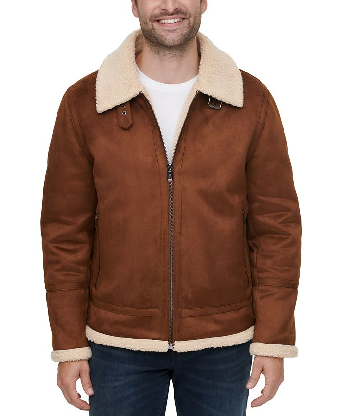 Calvin Klein - Men's Faux-Shearling Jacket