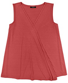 Sleeveless Crossover Top, Created for Macy's