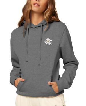 O'neill Juniors' Cotton Logo Hoodie In Gray