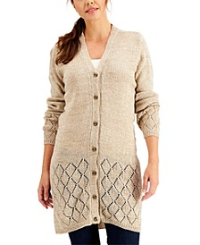 Button-Up Duster Cardigan, Created for Macy's