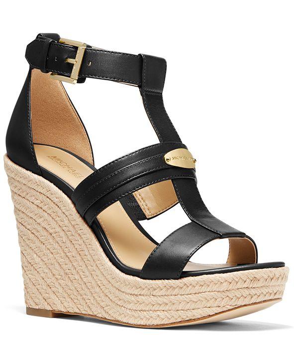 Michael Kors Finley Wedge Sandals