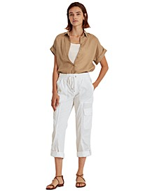 Roll-Cuff Cargo Pants