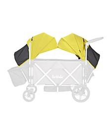 Caravan Canopy Wagon Stroller, Set of 2