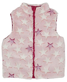Little Girls Full Zip Reversible Vest