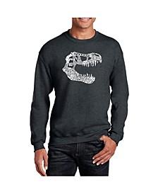 Men's Word Art Trex Crewneck Sweatshirt