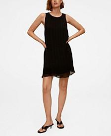 Women's Pleated Short Dress