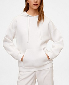 Women's Hooded Flowy Sweatshirt