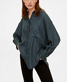 Women's Pocket Cupro Shirt