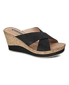 Nelena Wedge Sandal