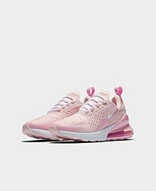 Girls Air Max 270 Casual Sneakers from Finish Line