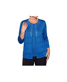 Alfred Dunner Women's Ombre Two for One