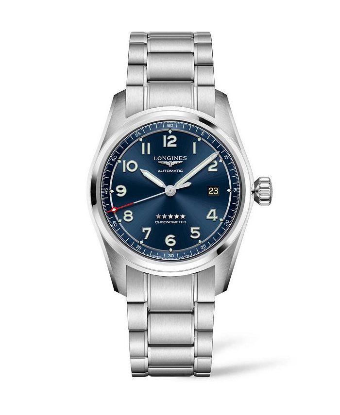 Longines - Men's Automatic Spirit Stainless Steel Chronometer Bracelet Watch 40mm