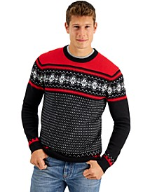 Men's Snowflake Sweater, Created for Macy's