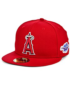 Los Angeles Angels World Series Patch 59FIFTY Cap
