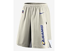 Men's Los Angeles Rams Breathe Knit Player Shorts