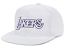 Los Angeles Lakers Whiteout Pop Snapback Cap