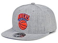 Mitchell & Ness New York Knicks Hardwood Classic Team Heather Fitted Cap