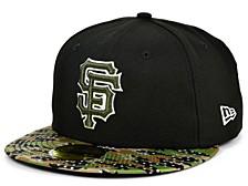 San Francisco Giants Star Viz Camo 59FIFTY Cap