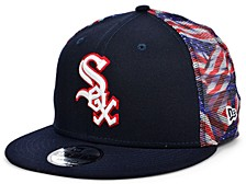 Chicago White Sox Flag Mesh Back 9FIFTY Cap