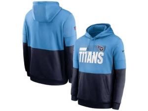 Nike Tennessee Titans Men's Sideline Team Lockup Therma Hoodie