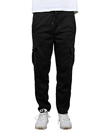 Men's Cargo Fleece Jogger Sweatpants