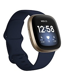 Versa 3 Midnight Blue Strap Smart Watch 39mm
