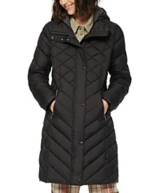 Elara Hooded Quiled Puffer Coat
