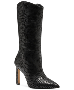 Vince Camuto WOMEN'S SENIMDA MID-CALF BOOTS WOMEN'S SHOES