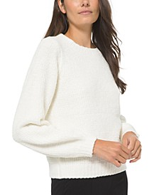 Puff-Sleeve Sweater, Regular & Petite Sizes