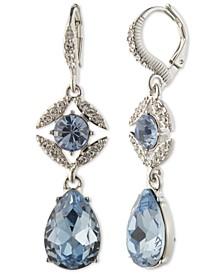 Stone & Crystal Drop Earrings