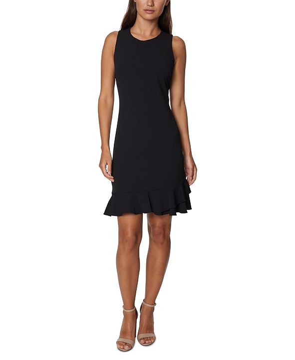 Betsey Johnson Ruffled Shift Dress