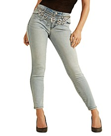 Sexy Curve Embellished Skinny Jeans