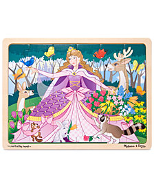 Melissa and Doug Kids Toy, Woodland Princess 24-Piece Jigsaw Puzzle