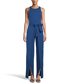 INC Wide Open-Leg Jumpsuit, Created for Macy's