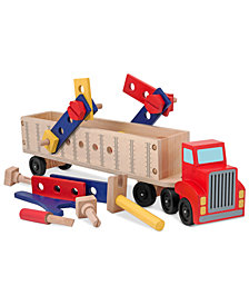 Melissa and Doug Kids Toy, Big Rig Building Set