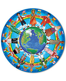 Melissa and Doug Kids Toy, Children Around the World 48-Piece Floor Puzzle