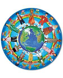 Melissa and Doug Kids Toy, Children Around the World 48-Piece Floor Puzzle