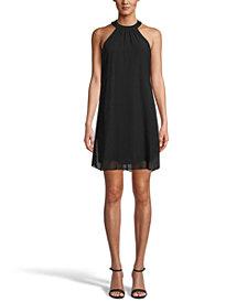 Bar III Halter-Neck Shift Dress, Created for Macy's