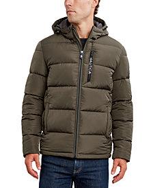 Nautica Men's Hooded Puffer Jacket