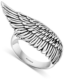 EFFY® Men's Feathered Wing Ring in Sterling Silver