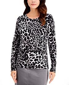 Cheetah-Print Top, Created for Macy's