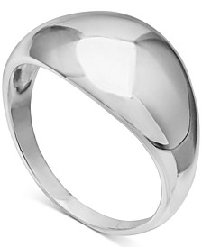 Polished Dome Ring in Sterling Silver, Created for Macy's