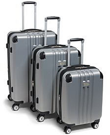 Adventure 3 Piece Hardside Luggage Set