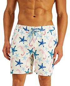 Men's Under the Sea Swim Trunks, Created for Macy's