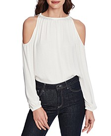 Cold-Shoulder Top
