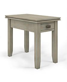 Artisan Solid Wood Narrow Side Table